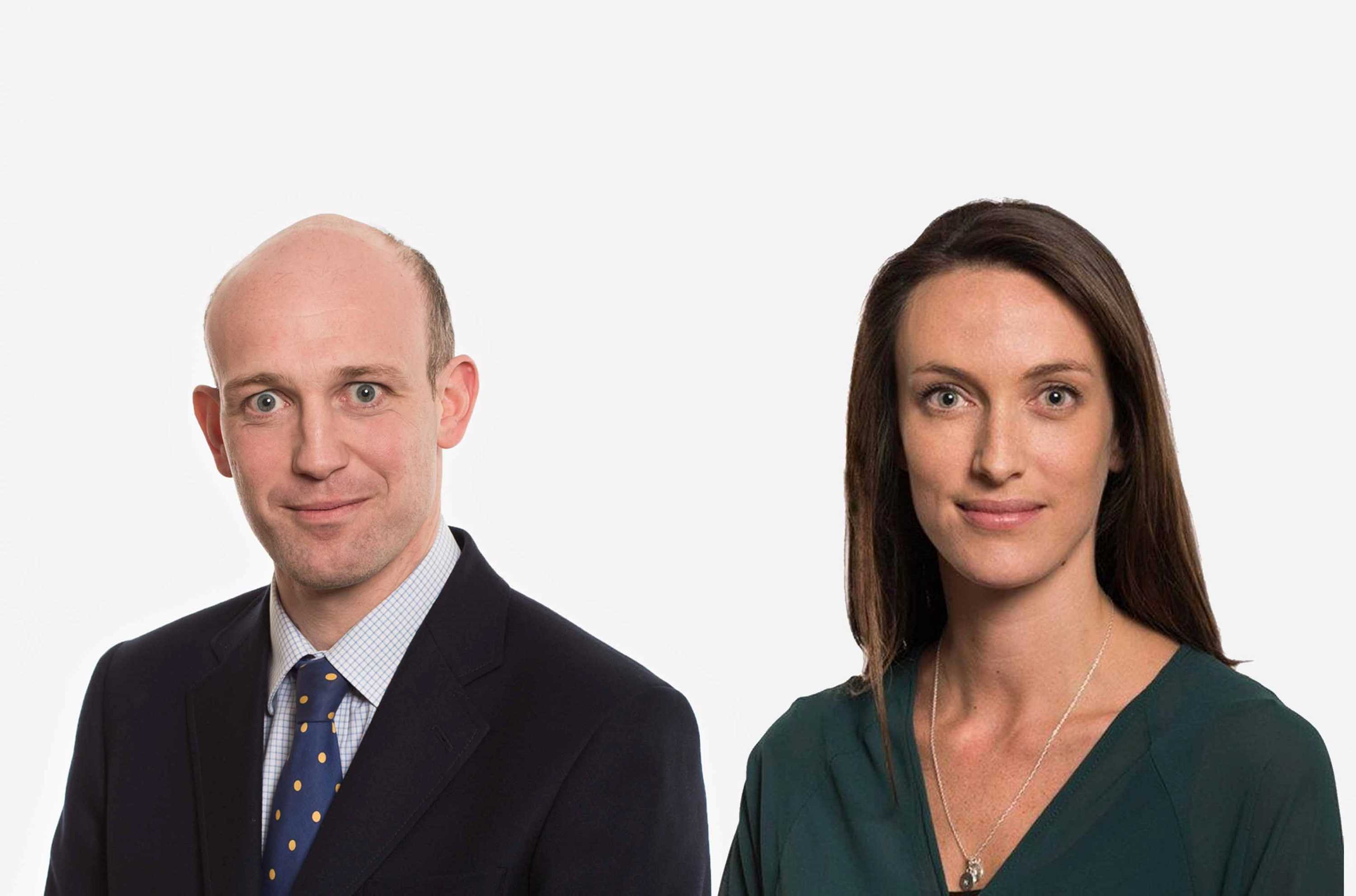 Alex Baily and Kate Rogers announced as new Co-Heads of Charities
