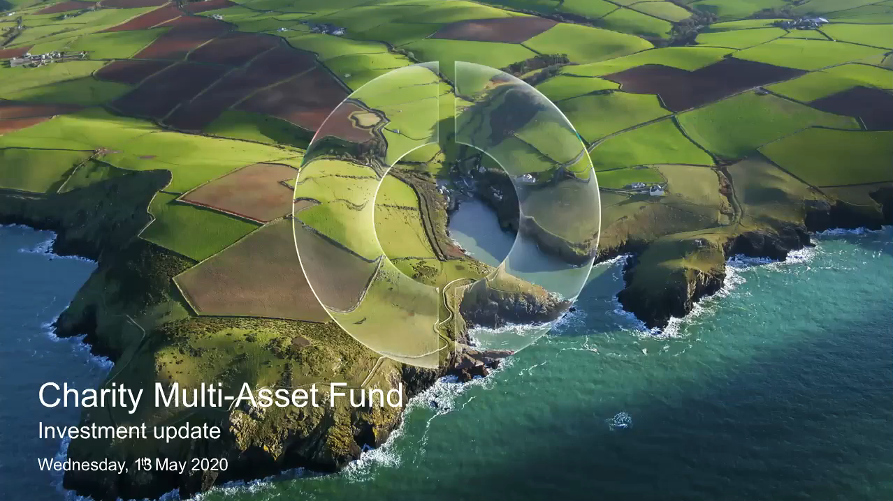 Charity Multi-Asset Fund update - May 2020