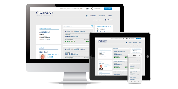what is eservices financial adviser cazenove capital